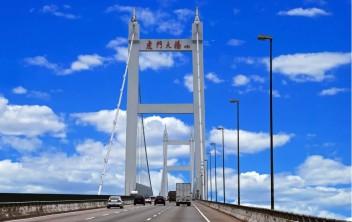 虎门大桥标识